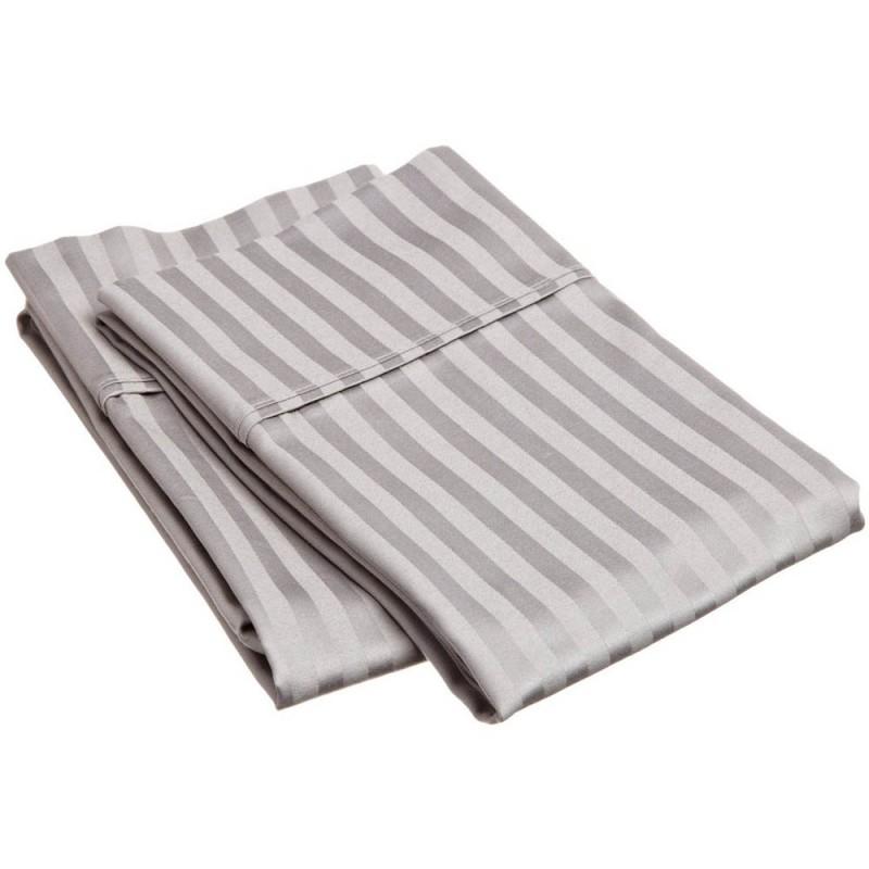 300tc Egyptian Cotton Stripe Pillowcase Set