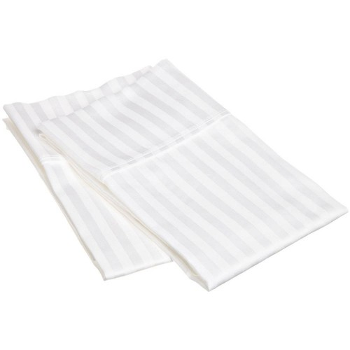 300tc Egyptian Cotton Stripe Pillowcase Set