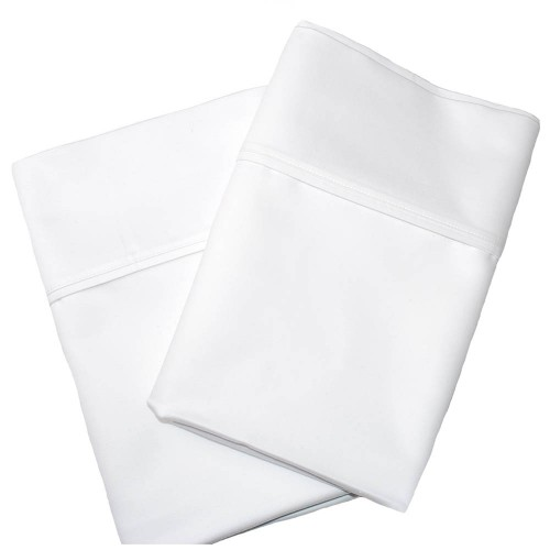 1000tc Cotton Rich Solid Pillowcase Set