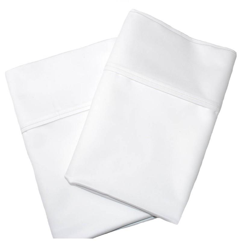 1000tc Cotton Rich Solid Pillowcase Set