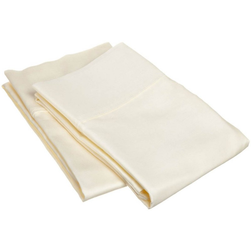 300tc Egyptian Cotton Solid Pillowcase Set