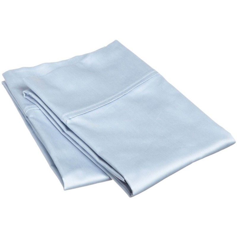 800tc Egyptian Cotton Solid Pillowcase Set