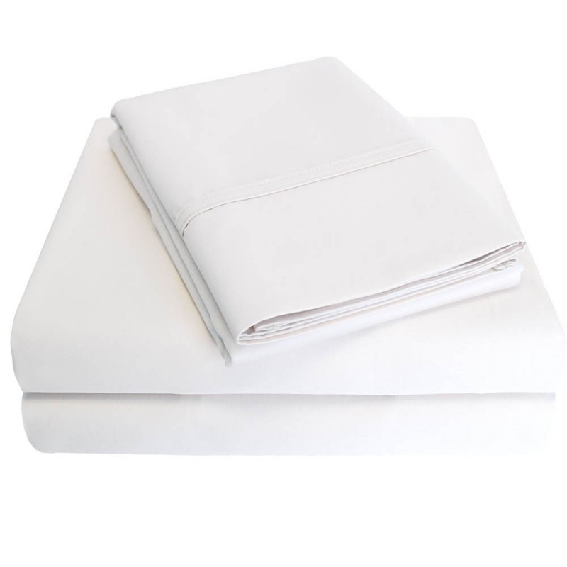 1000tc Cotton Sheet Set w/ Bonus Pillowcases - Egyptian Cotton Sheets
